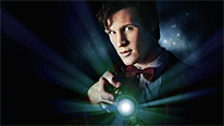 Matt Smith begins his first adventure as the Doctor