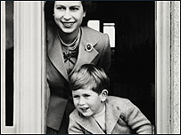 prince charles as a boy