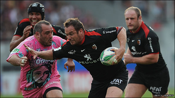 Toulouse beat Stade Francais in the Heineken Cup