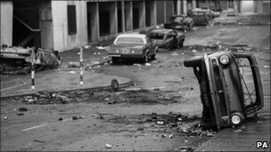 Tottenham after the 1985 riot