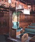 Image of Speaker's Chair in the House of Commons