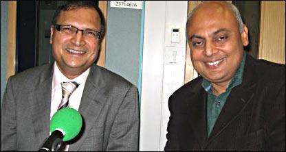 संजीव श्रीवास्तव के साथ रजत शर्मा