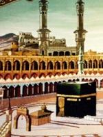 The desert city of Mecca in Saudi Arabia