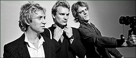 Photo shoot: The Police
