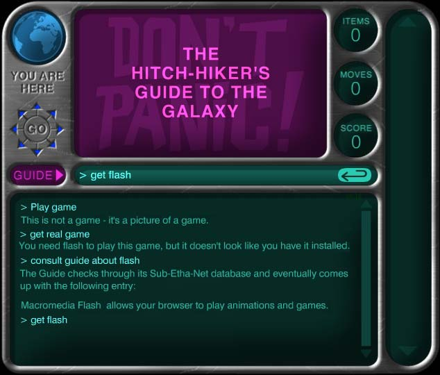 BBC - Radio 4 - The Hitchhiker's Guide to the Galaxy - The