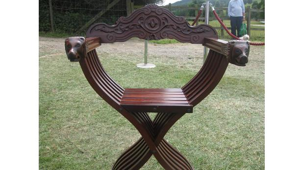 Captivating Bishop Chair