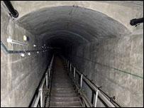 burlington bunker how to get in