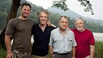 Steve Backshall, Gordon Buchanan, Alan Rabinowitz and George McGavin explore the Lost Land Of The Tiger