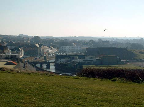 Looking over Bude