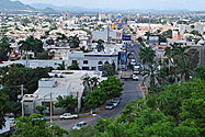 A panoramic view of Culiacán