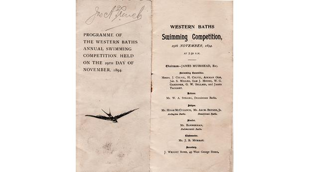 Westrn Baths Competition Programme