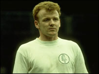 Leeds United's Billy Bremner, 1975