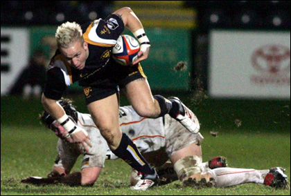 Worcester Warriors 23 - 10 Newport Dragons