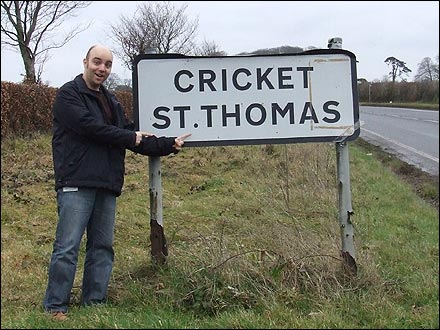 Adam Thomas at Cricket St Thomas