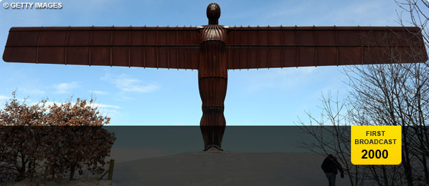 Antony Gormley's 'Angel of the North'.