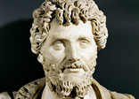 Marble bust of Septimus Severus