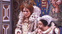Miranda Richardson & Patsy Byrne in Blackadder II