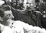Photograph showing Stalin and Beria