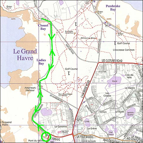 Bbc guernsey nature grand havre walk for Perry cr309 s manuale