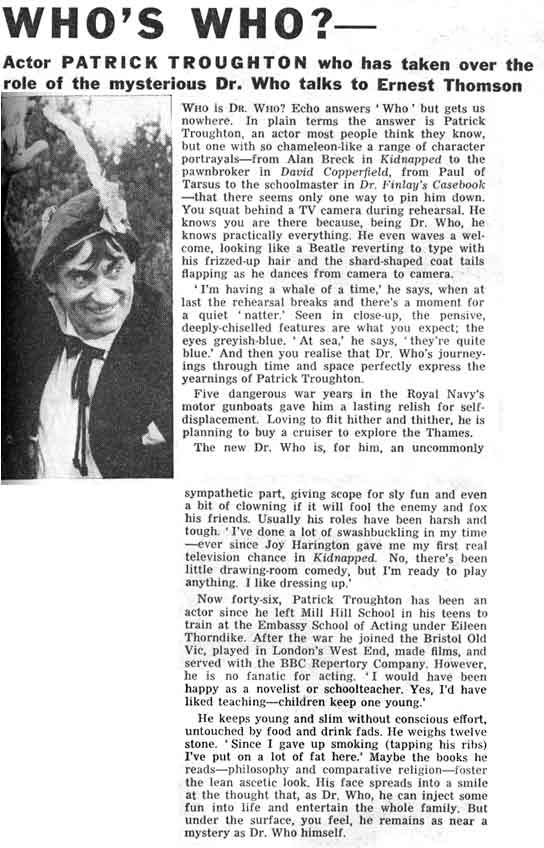 Section 1 of an article from the Radio Times.