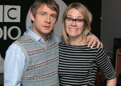 Martin Freeman and Edith