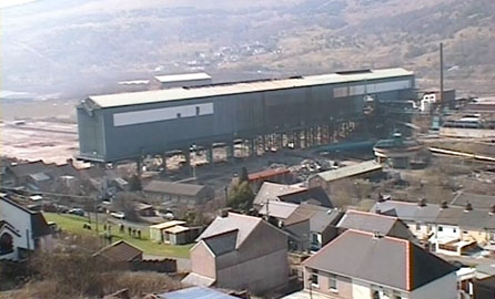 The Pickler before demolition (screen grab taken from a video by the Ebbw Vale Institute)