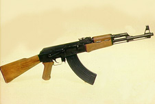 A Kalashnikov assault rifle