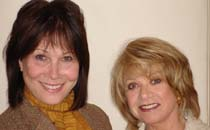 Michele Lee and Elaine Paige