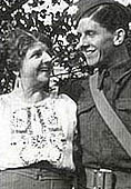 Photograph showing Nella and her younger son, Cliff