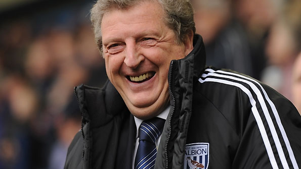 Roy Hodgson watches West Brom.