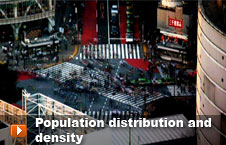 Watch 'Population distribution and density' video