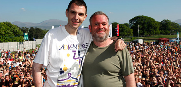 Chris Moyles and Tim Westwood