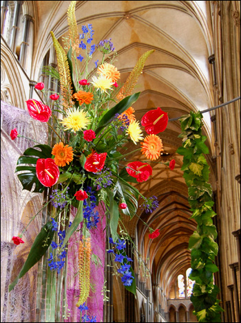Salisbury Cathedral - Flower Festival 2008