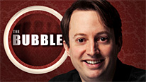 David Mitchell introduces another episode of The Bubble