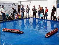 Image of model boats