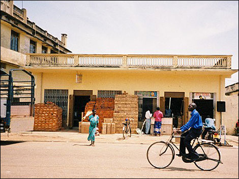 Possibly Rupal's Dad's shop in Soroti
