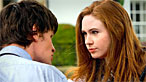 The Doctor and Amy Pond in the episode The Eleventh Hour