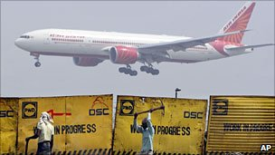 Airplane in India