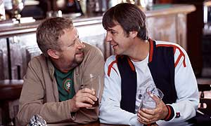 Mark Williams as Kirk and Neil Morrissey as Barry