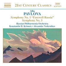"Review of Symphony No. 1 ""Farewell Russia"" / Symphony No. 3 (Russian Philharmonia Orchestra)"