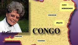 Maud Kells adn the Congo Map
