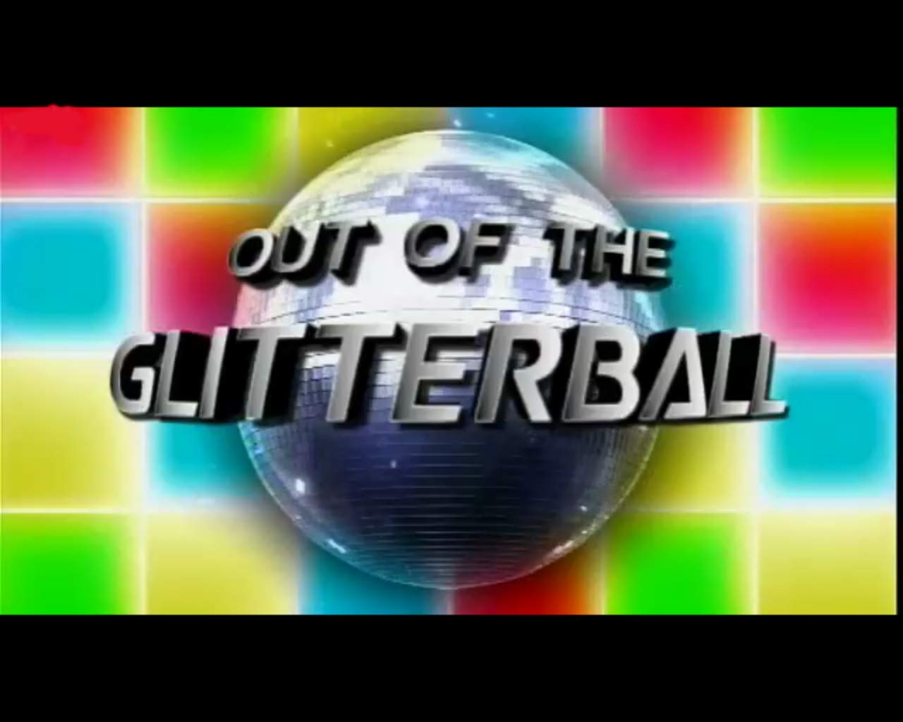 The 'Out of the Glitterball' segment logo