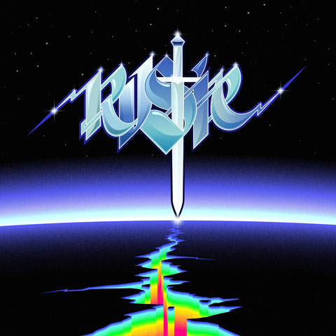 Rustie - Sunburst EP - artwork