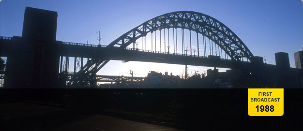 The Tyne Bridge in newcastle.