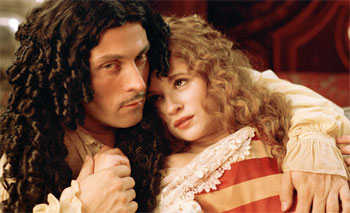 Rufus Sewell and Emma Pearson in Charles II
