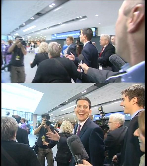 David Miliband - 'I'm on my way out'