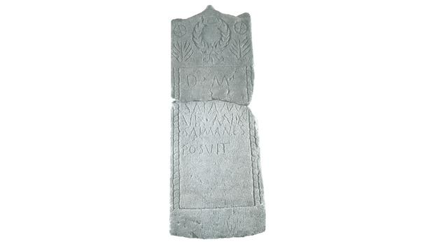 Roman inscribed gravestone from Scotland