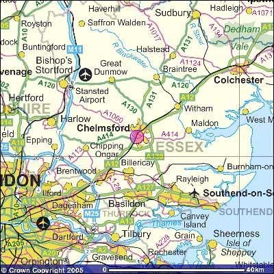 BBC Essex Local Radio Maps