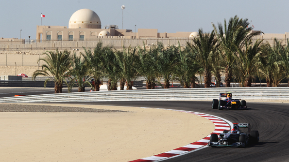Bahrain held its first grand prix in 2010. Photo: Getty