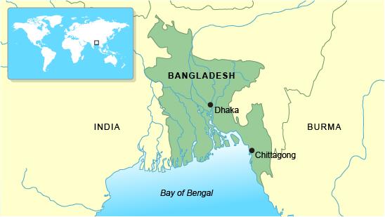 BBC  GCSE Bitesize Case study coping with flooding in Bangladesh